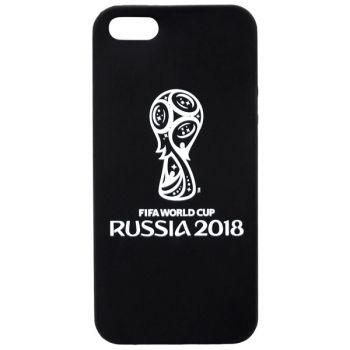 Чехол для iPhone 2018 FIFA WCR Official Emblem b/w для Apple iPhone 5/5S/SE